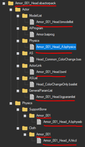 Actor pack file name changes