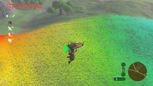Full RGB color spectrum used for grass.