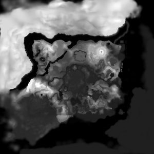 Height map of Hyrule Main Field